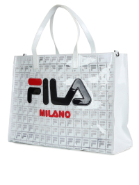 Big Side Logo Bag In White by