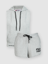 French Terry Set in Grey by