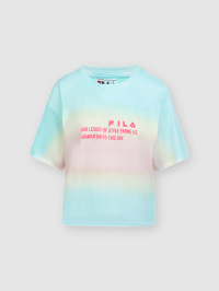 Oversized Print Tshirt in Multicolor by