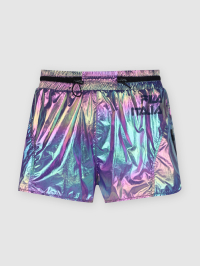 Holographic Shorts in Multicolor by