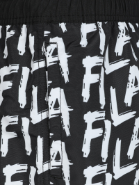 Fila Print Swimshorts in Black and White by