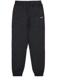 Voyager Collection Jogger Pants in Black with Pink Elements by