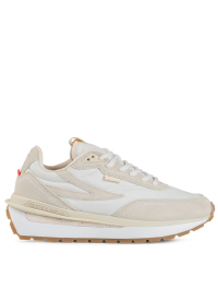 Renno Sneakers in White and Nude by