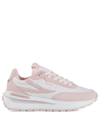 Renno Sneakers in White and Pink by