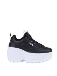 Fila Disruptor II Wedge In Black by